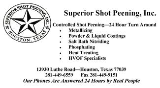 Superior Shot Peening